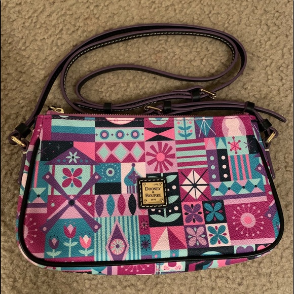 Dooney & Bourke Handbags - It's a small world Disney Dooney & Bourke purse